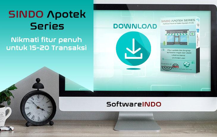 Aplikasi kasir apotek - SINDO Resto Series