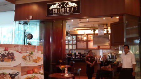 Klien SoftwareINDO - Churreria Plaza Indonesia - Pengguna software restoran, Karawaci, tangerang