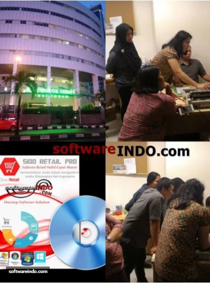 Training penggunaan software retail - SINDO Retail Series untuk koperasi Rumah Sakit Pondok Indah