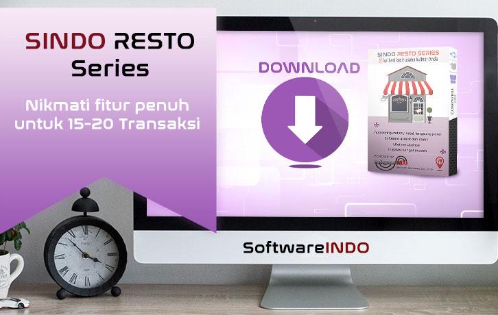 Aplikasi kasir restoran - SINDO Resto Series